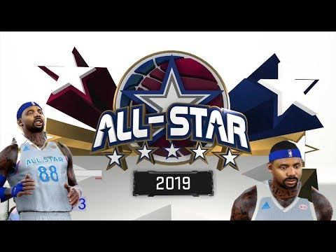 All-Star West & East 2019 | NBA 2K17 MyCareer | All-Star Weekend Rigged On 2K