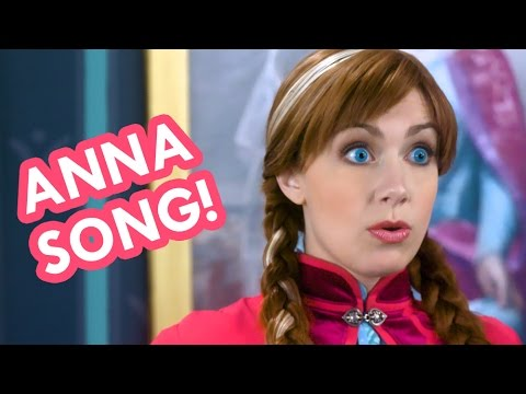 Princess Anna Song | THAT WOULD NOT BE ME | Frozen 2 in real life