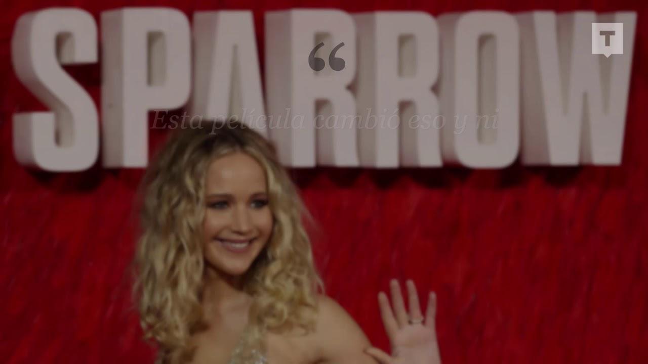 El Desnudo De Jennifer Lawrence En La Película Gorrión Rojo La Ayudó A Superar Las Inseguridades