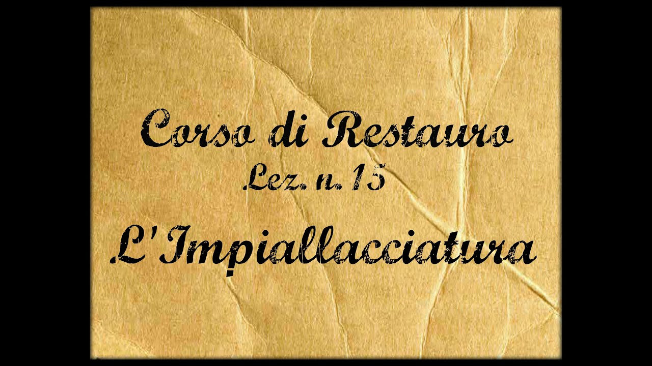 Corso Di Restauro Lez.n.15 (Lu0027Impiallacciatura) Arte Per Te   YouTube