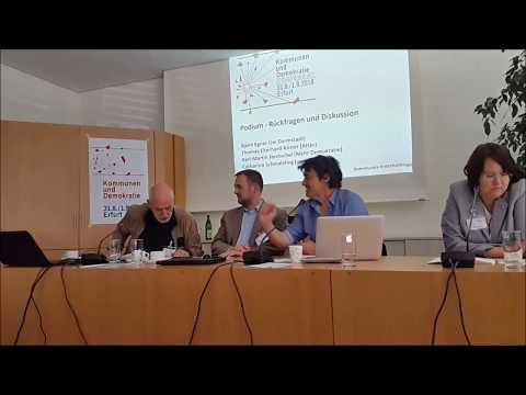 Kommunenkonferenz: Karl-Martin Hentschel (Mehr Demokratie e.V.)