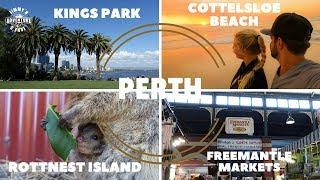 Cottelsloe Beach, Kings Park, Freemantel Markt & Rottnest Island - Vlog #11