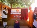 Murti-Pratishtha & Exhibition Opening, Guruhari Darshan 1 Feb 2017, Gadhada, India