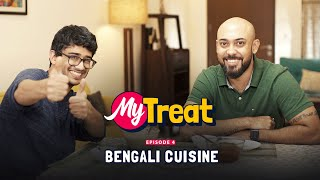 My Treat | Punjabi Guy Tries Authentic Bengali Food For The First Time | Ok Tested