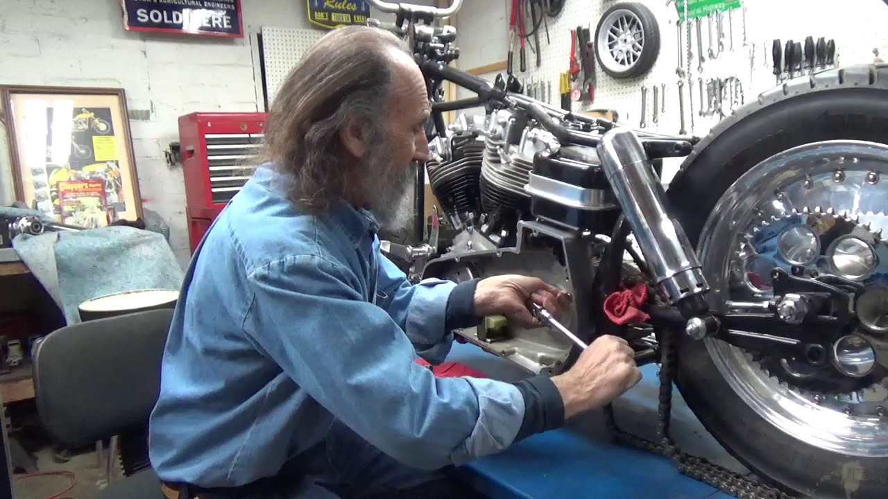 Install Inner Primary on a Shovelhead. - YouTube