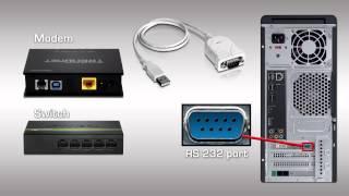 TRENDnet Convertidor de USB a serial TU-S9