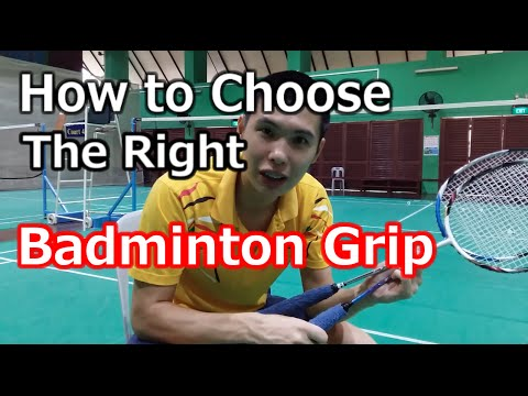 Beginners Guide to Choosing Badminton Racket Grips | BG Academy