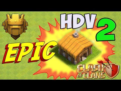 [EPIC] HDV 2 Champion vers le Titan - Clash of Clans