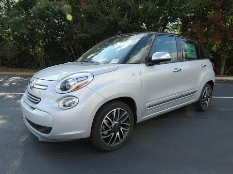 2014 Fiat 500L Lounge Start Up, Exhaust, and In Depth Review