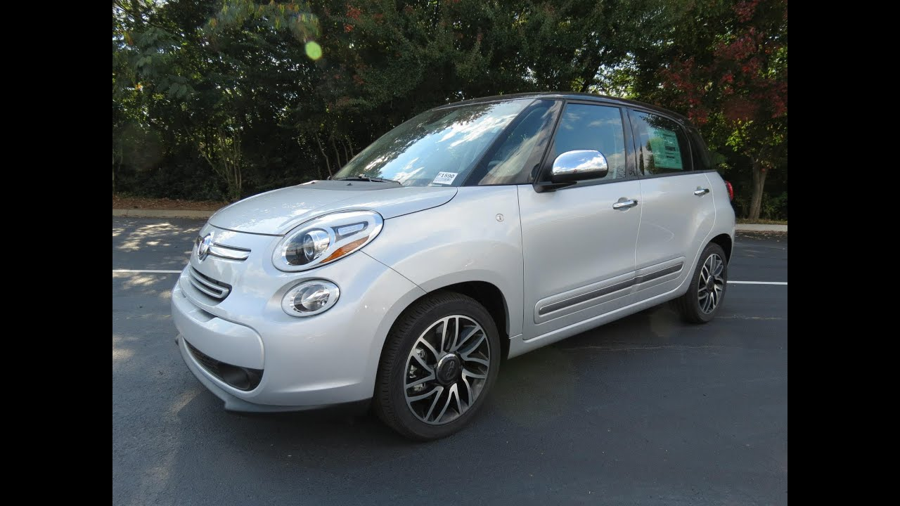 2014 Fiat 500l Lounge Start Up Exhaust And In Depth