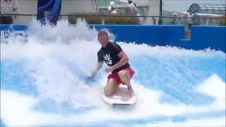 Royal Caribbean - Flowrider on Voyager of The Seas