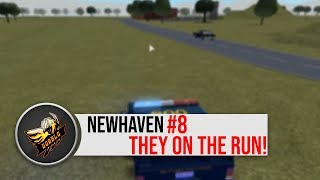 [8] MSP PATROL THEY'RE ON THE RUN! | New Haven County ROBLOX
