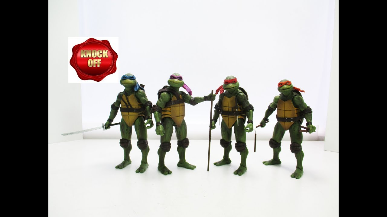 Download Knock-off NECA SDCC TMNT 1990 + EXTRA accessories