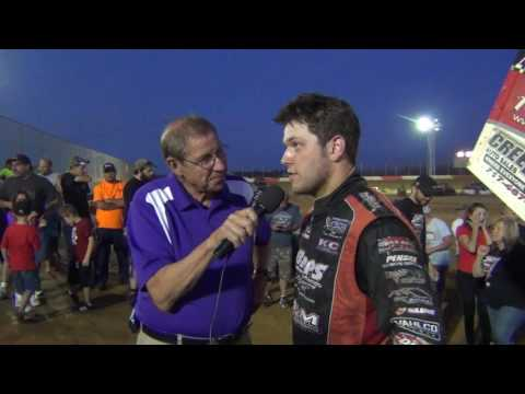 Trail-Way Speedway 410 Sprint Car Victory Lane 7-10-16