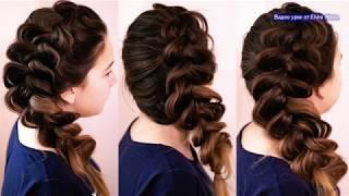 Воздушная, объёмная коса  Самый простой способ плетения   Trenza Hair tutorial