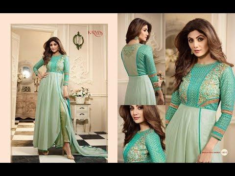 Latest Indian Dresses Collections 2017 || KARMA TRENDZ || SHILPA SHETTY 10008 - 10015 SERIES