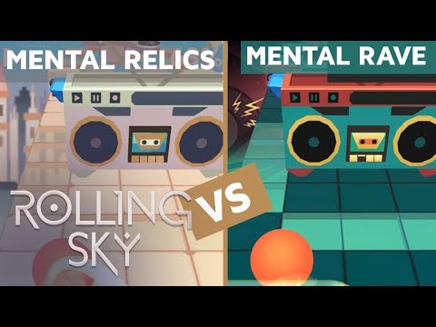 Rolling Sky - Mental Relics Vs Mental Rave (ReSkinned Version) | SHAvibe
