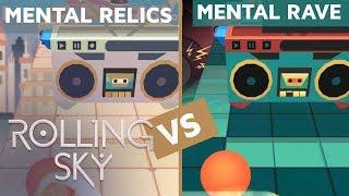 Rolling Sky - Mental Relics Vs Mental Rave (ReSkinned Version)   SHAvibe