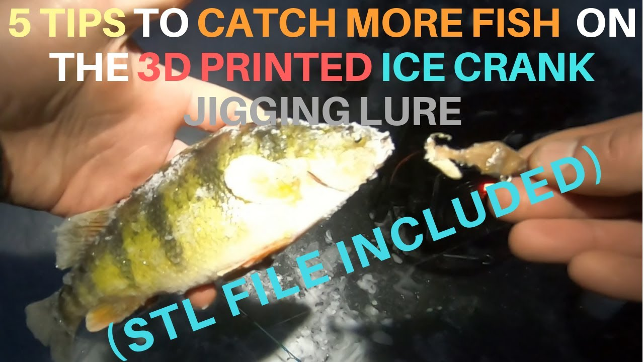 ICE CRANK (STL FILE) – UPSCALE LURES