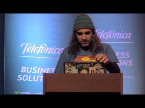 Chema Alonso en Quito: Seguridad en dispositivos móviles