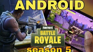 Fortnite season 5 apk download for android. real or fake