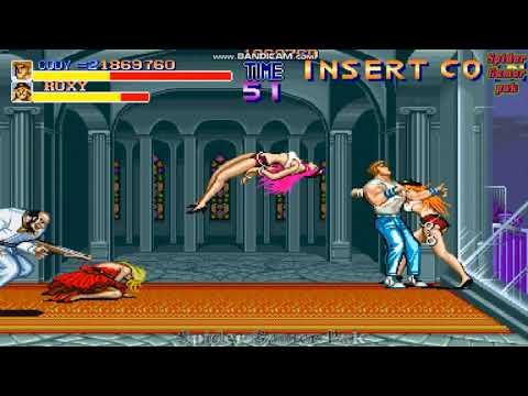 Final Fight All Bosses No Death (Arcade) |