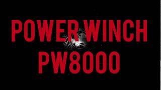 Обзор с разбором лебедки Powerwinch PW8000E