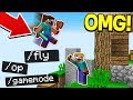 GIVING PEOPLE OP ON MY MINECRAFT SERVER!