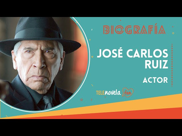 Biografía José Carlos Ruiz