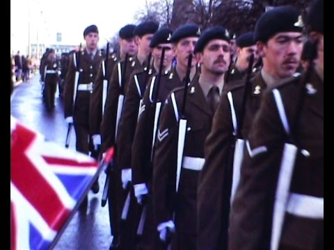 Falklands Victory Parade, Plymouth 1982 - Super 8mm