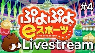 「LIVE」Puyo Puyo Esports (#4): Burn to Fight