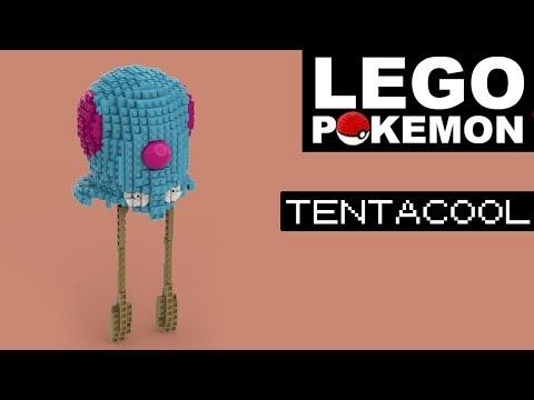 TENTACOOL Lego Pokemon (Custom Build)