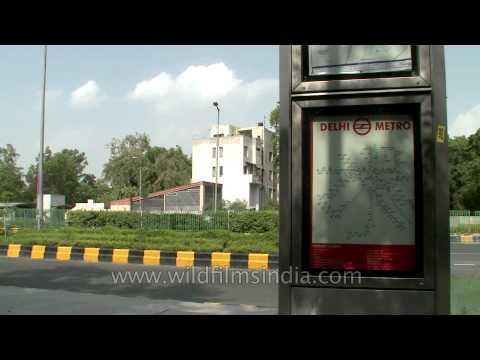 Delhi Metro: Underground station Jor Bagh