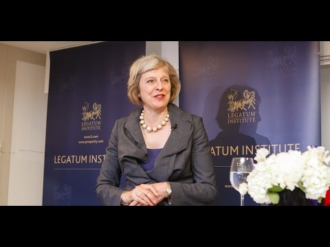 2015 Legatum Institute Summer Party Speech — with Theresa May, Home Secretary