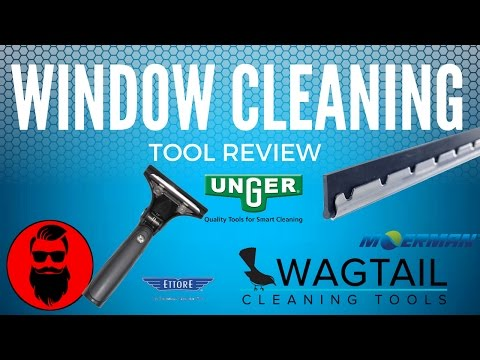 WINDOW CLEANING TOOL REVIEW