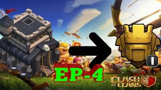 Town Hall 9 To Titan Leauge 1 || Episode 4 || Clash Of Clans || Live Stream