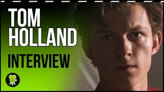 We interview Tom Holland on the ceiling: