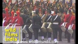 Massed bands of India!