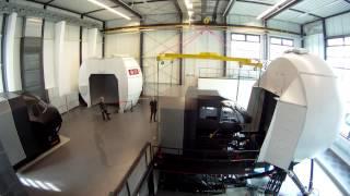 Cockpitwechsel im Simulatorzentrum