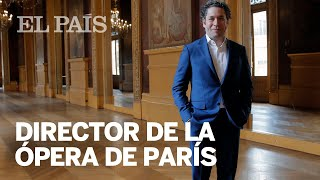 El músico venezolano Gustavo Dudamel, nuevo director musical de la Ópera de París