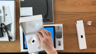 Unboxing The Microsoft Surface Pro 4