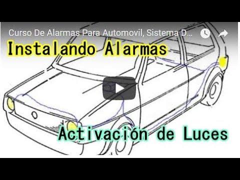 Curso De Alarmas Para Automovil, Sistema De Luces