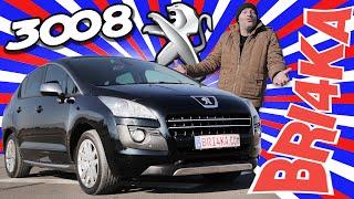 Peugeot 3008| 1Gen| Test and Review| Bri4ka.com
