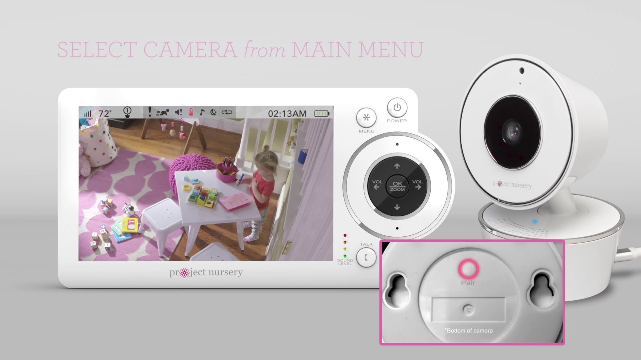 Project Nursery Baby Monitor Pairing