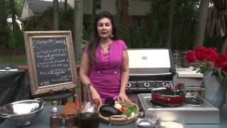 Cooking With Samira #136 Grilled Whole Chickens دجاج مشوي، Namura نمورة