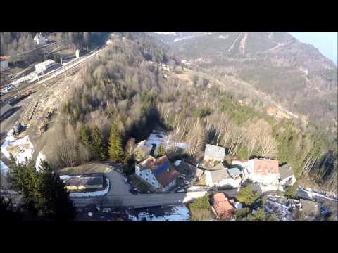 1 minute flight Semmering - Austria with TBS discovery pro