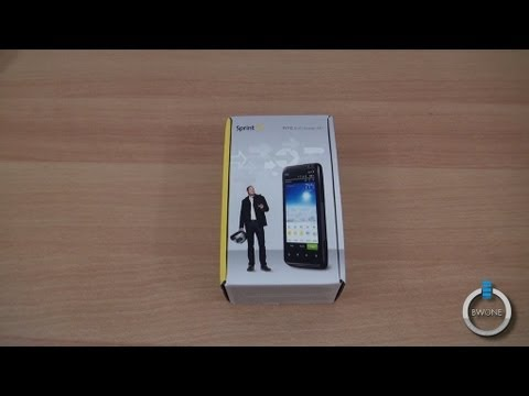 HTC EVO Design 4G, Unboxing, Hands-on & First Impressions - BWOne.com