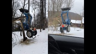 #393 This REALLY DID HAPPEN! More Evidence of Tractor Hanging From Tree