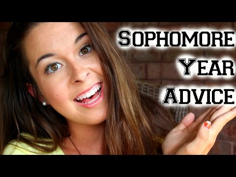 Sophomore Year Advice!