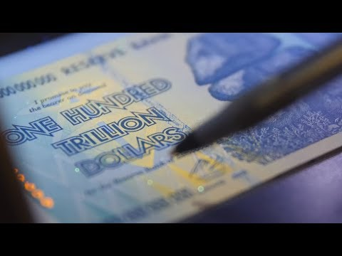 Authenticating Zimbabwe Currency (100 Trillion)